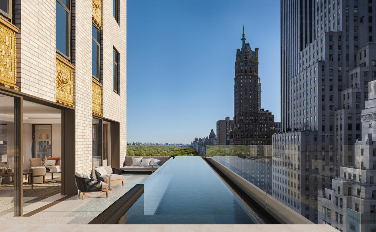 Aman New York Residence Swimming Pool