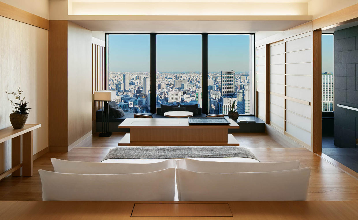 Aman Tokyo - Accommodation, Suite