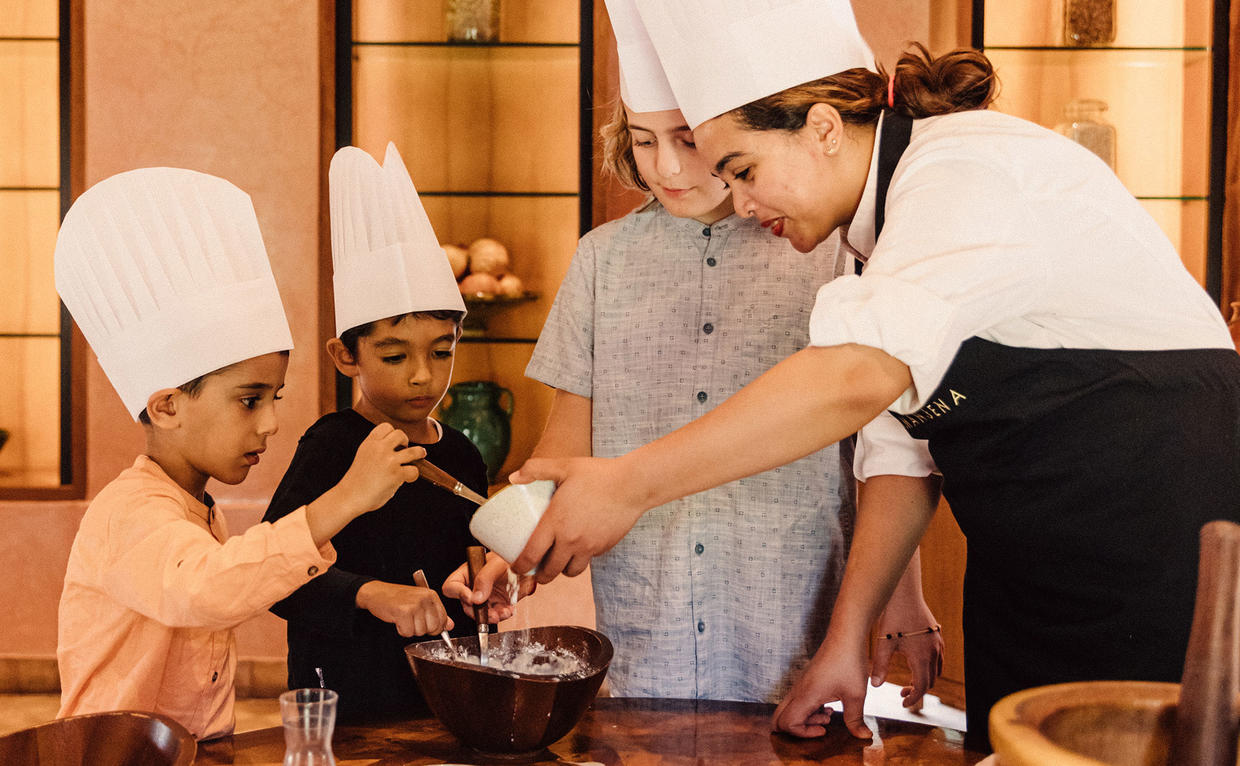Amanjena, Marrakech - Cooking Class, Family Activity