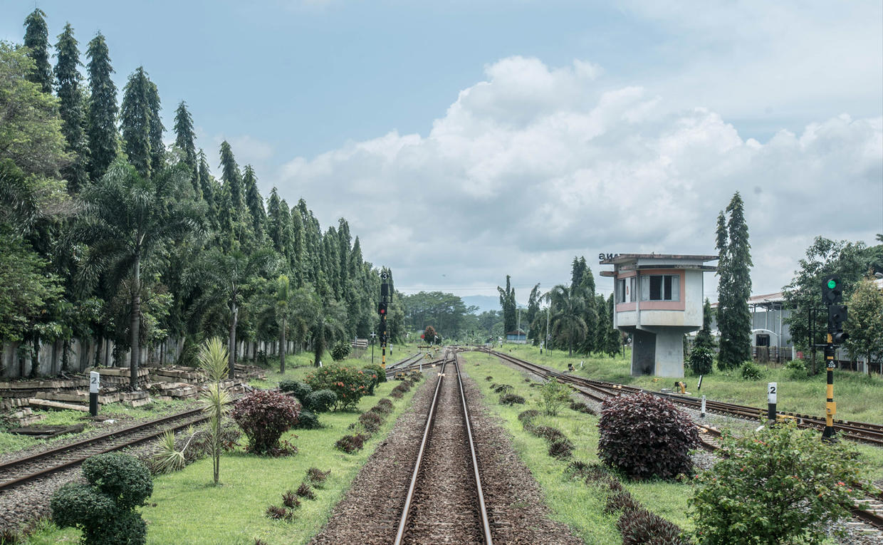 Amanjiwo, Indonesia - Railway