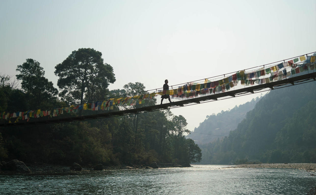 Amankora, Bhutan - Cultural Sites, Bridge