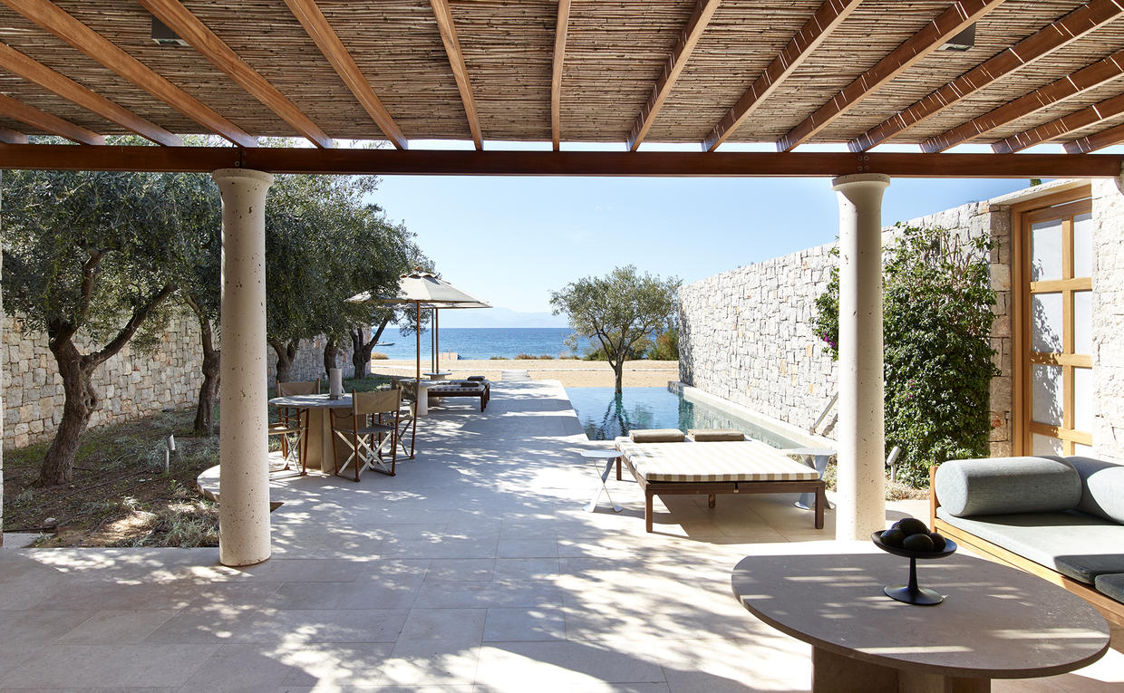 Beach Cabana, Villa 20, Amanzoe, Greece