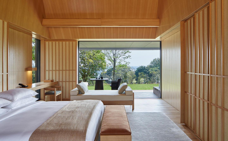 Bedroom, Mori Suite - Amanemu, Japan
