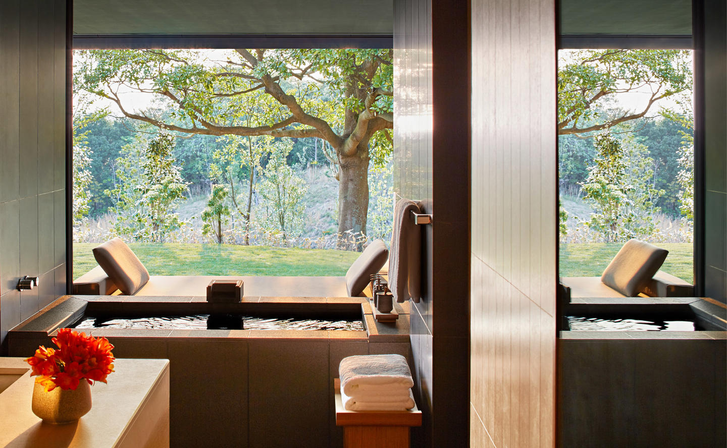 Bathroom with Onsen, Mori Suite - Amanemu, Japan