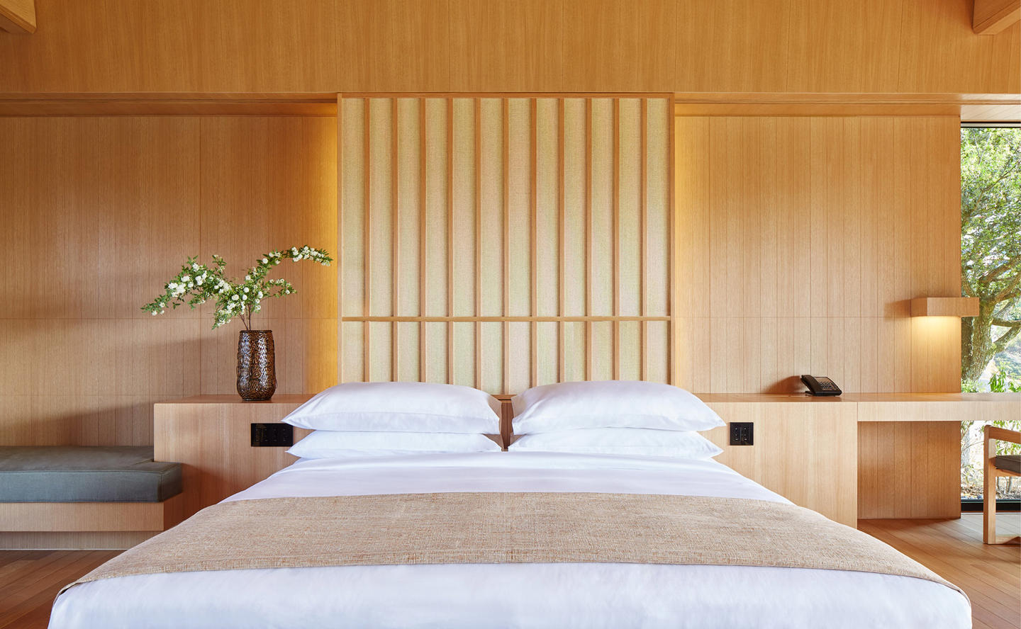 Bedroom, Mori Villa - Amanemu, Japan