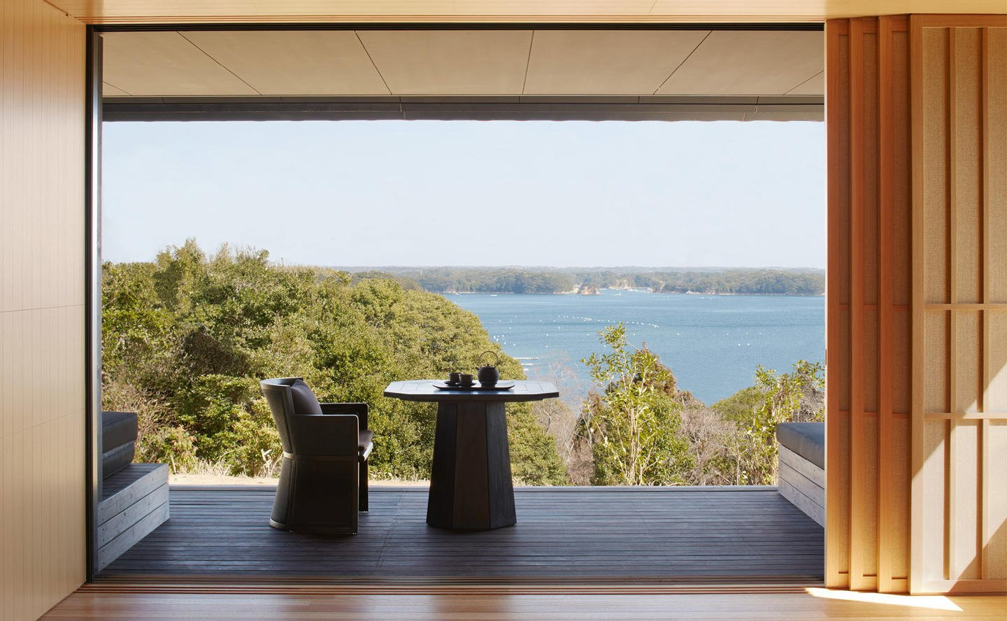 Terrace, Sora Suite - Amanemu, Japan