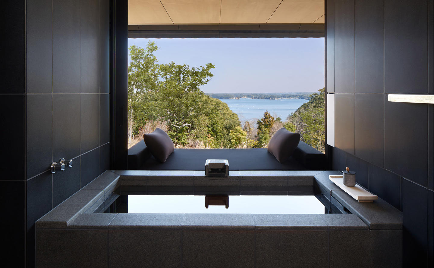Private Onsen, Sora Suite - Amanemu, Japan