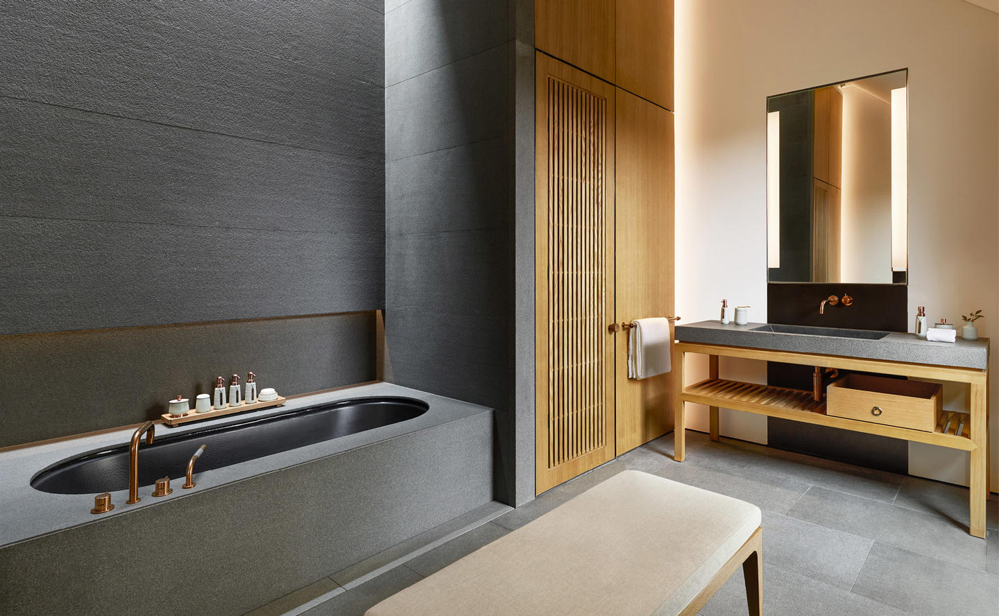 Bathroom, Ming Courtyard Suite - Amanyangyun, China