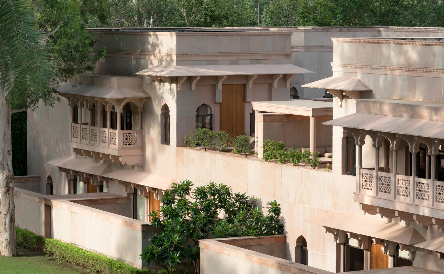 Exterior, Courtyard Haveli Suite - Amanbagh, India