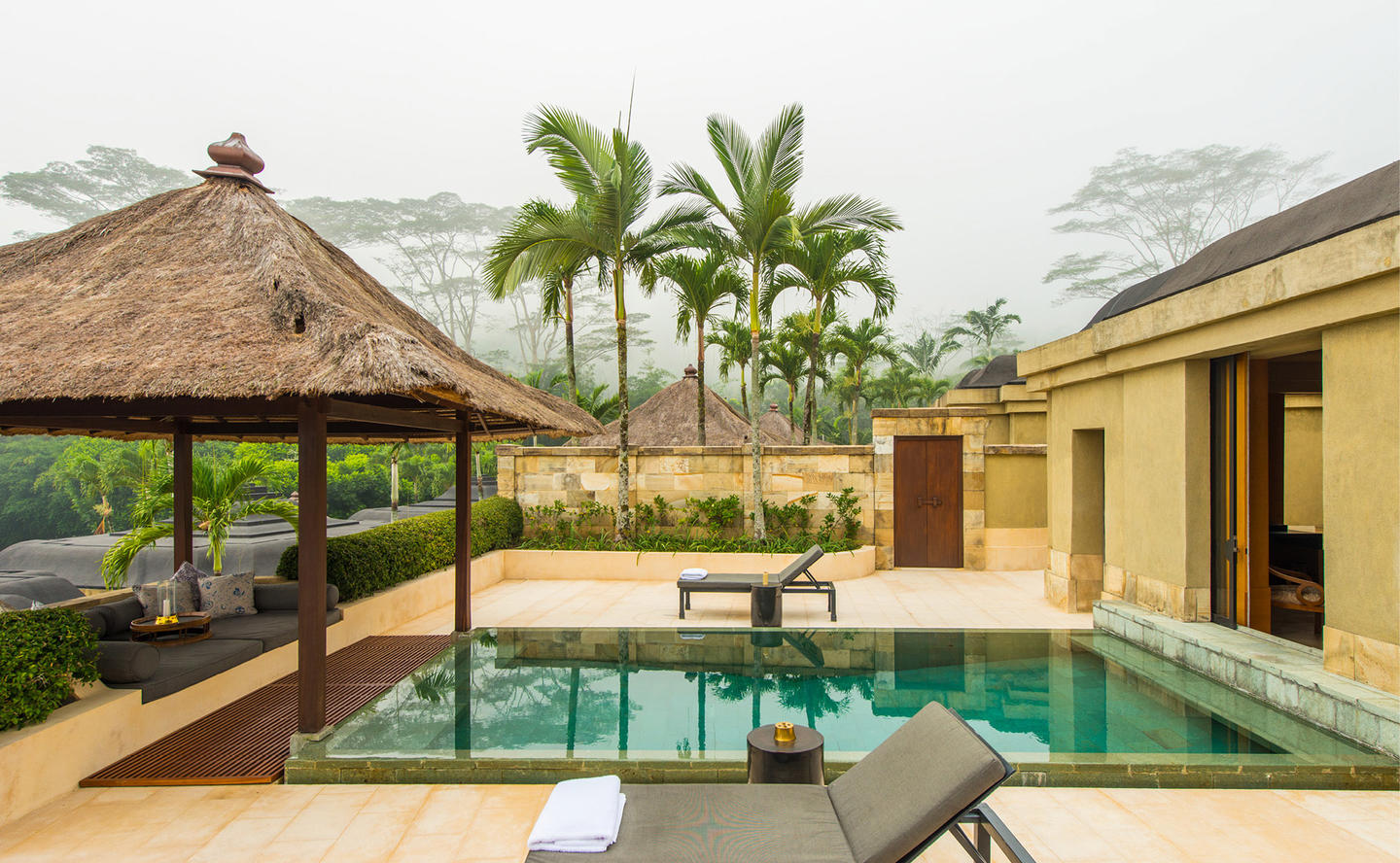 Swimming Pool, Garden Pool Suite - Amanjiwo, Java, Indonesia