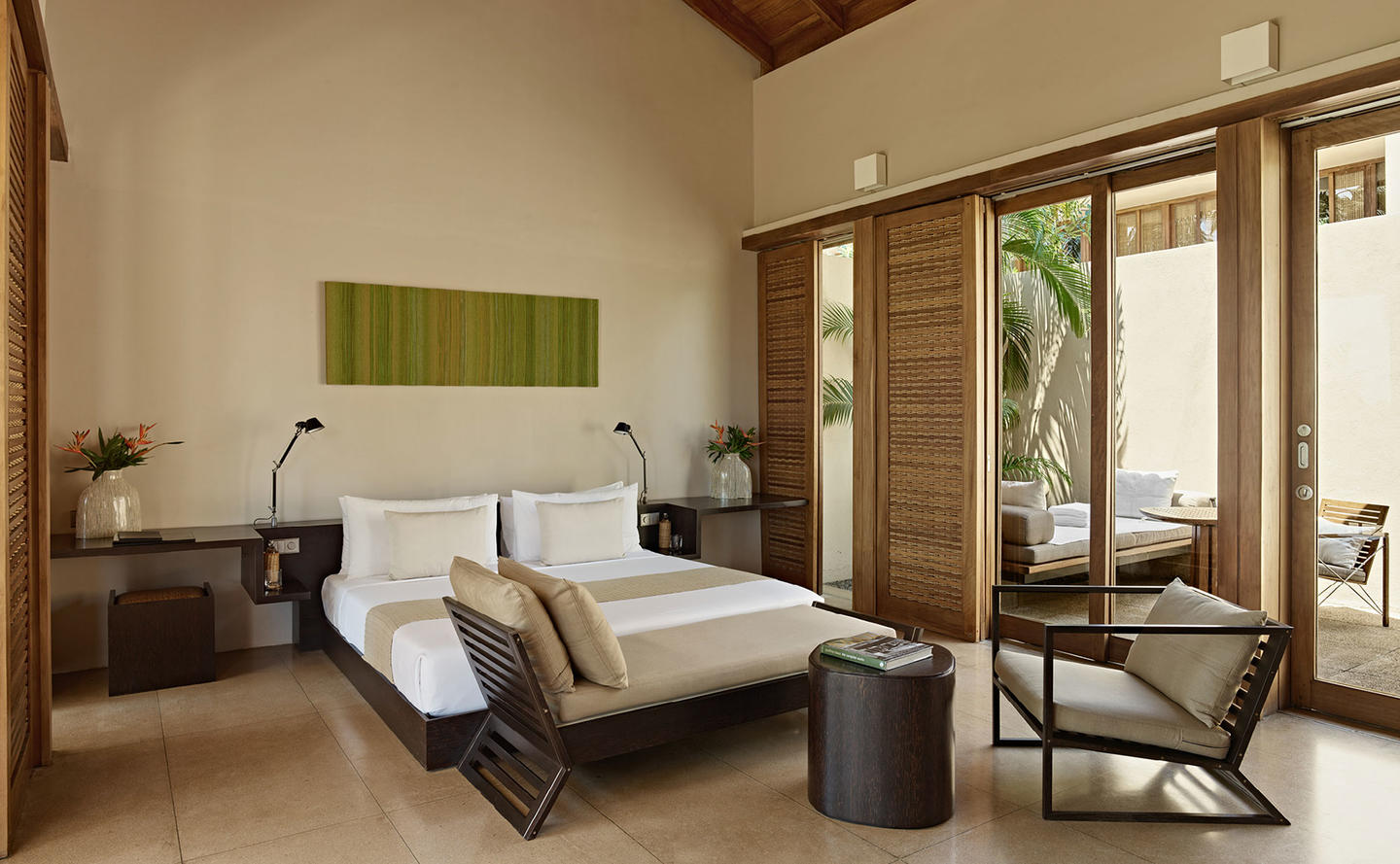 Bedroom, Garden Pool Suite - Amanwella, Sri Lanka