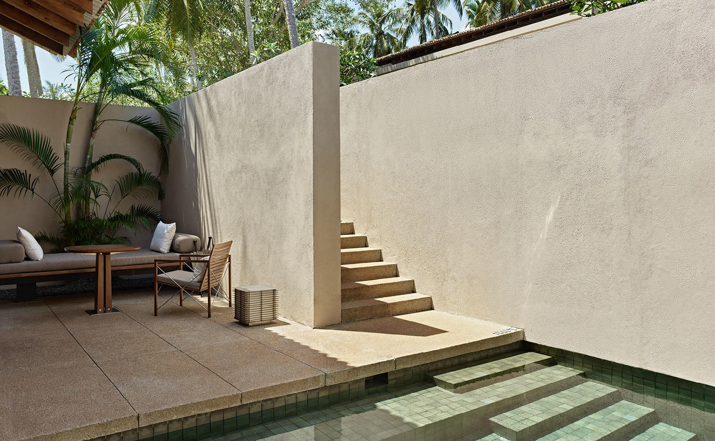 Swimming Pool & Terrace, Garden Pool Suite - Amanwella, Sri Lanka