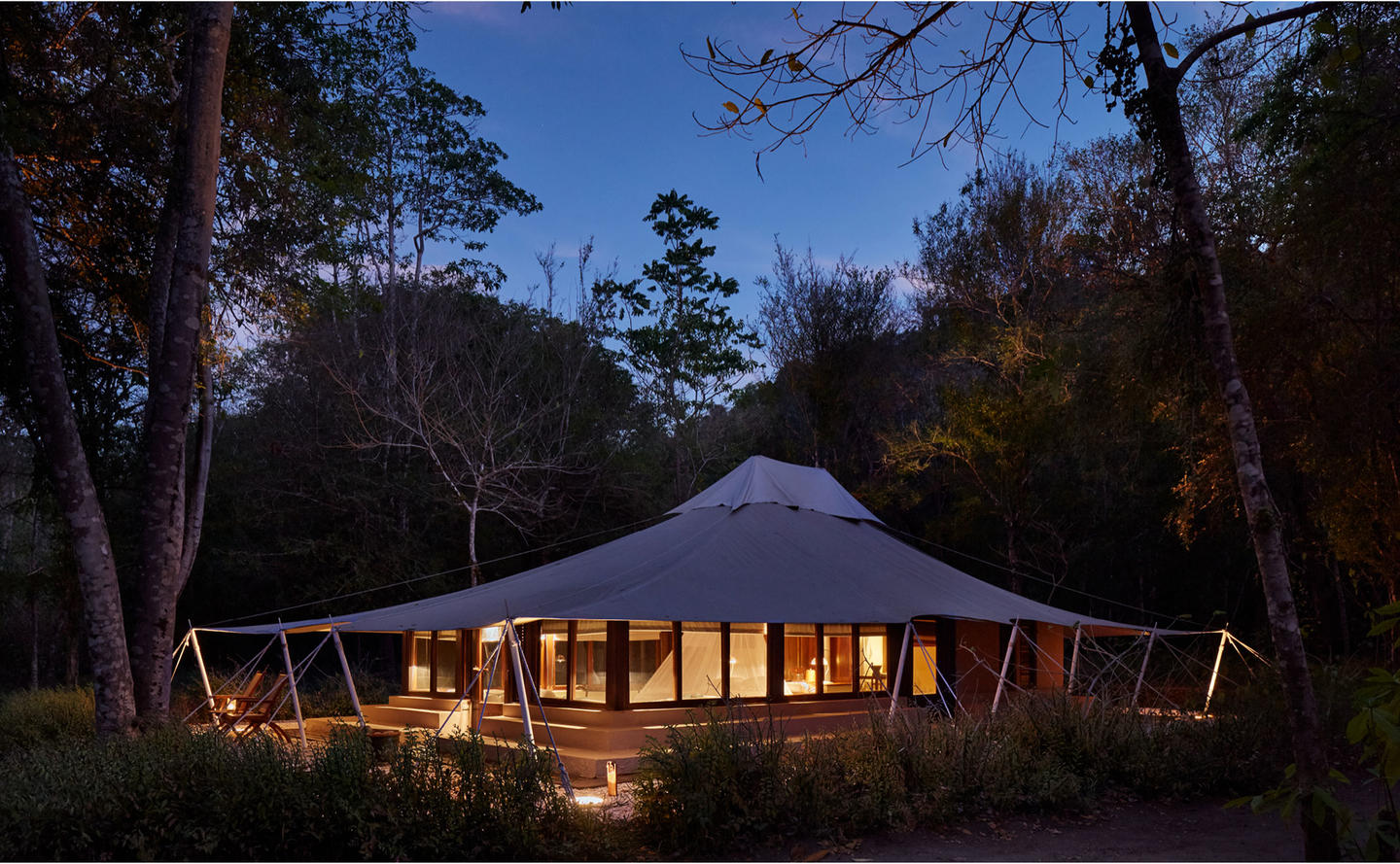 Exterior, Jungle Tent - Amanwana, Moyo Island, Indonesia