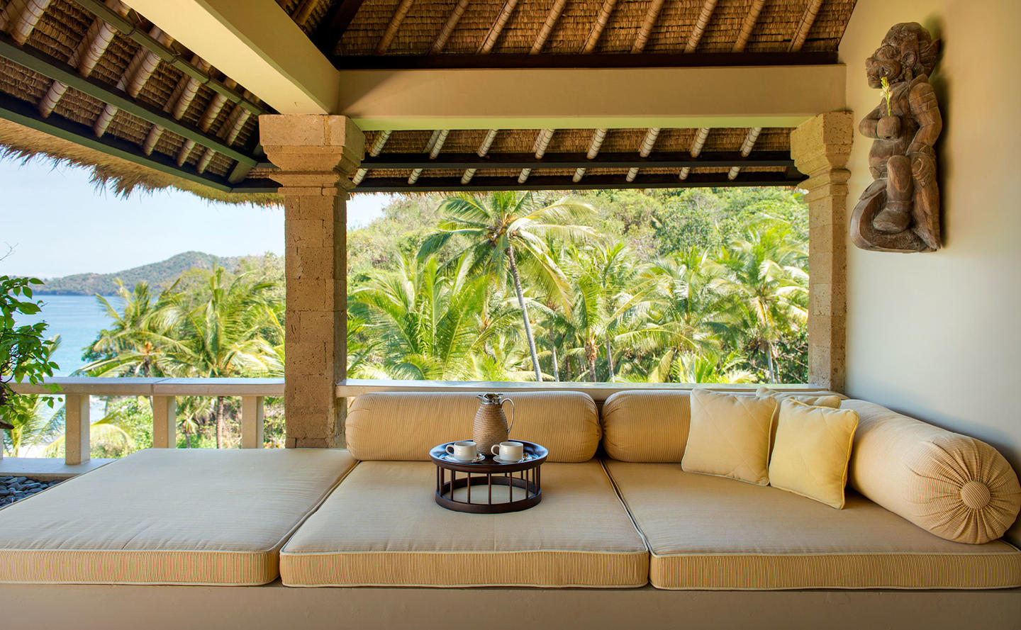 Relaxation Area, Ocean Suite - Amankila, Bali, Indonesia