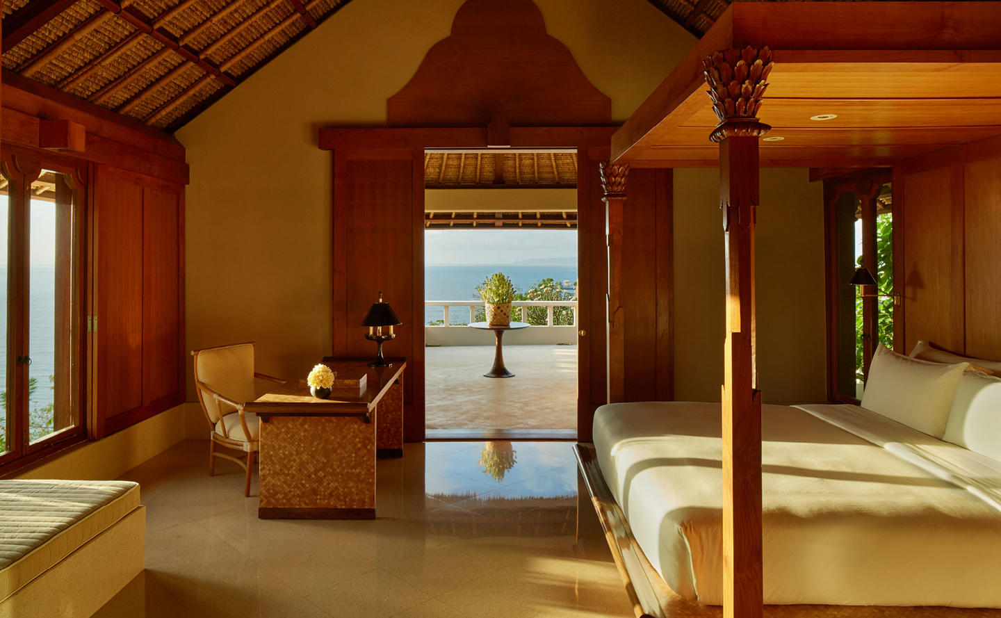 Bedroom, Ocean Suite - Amankila, Bali, Indonesia