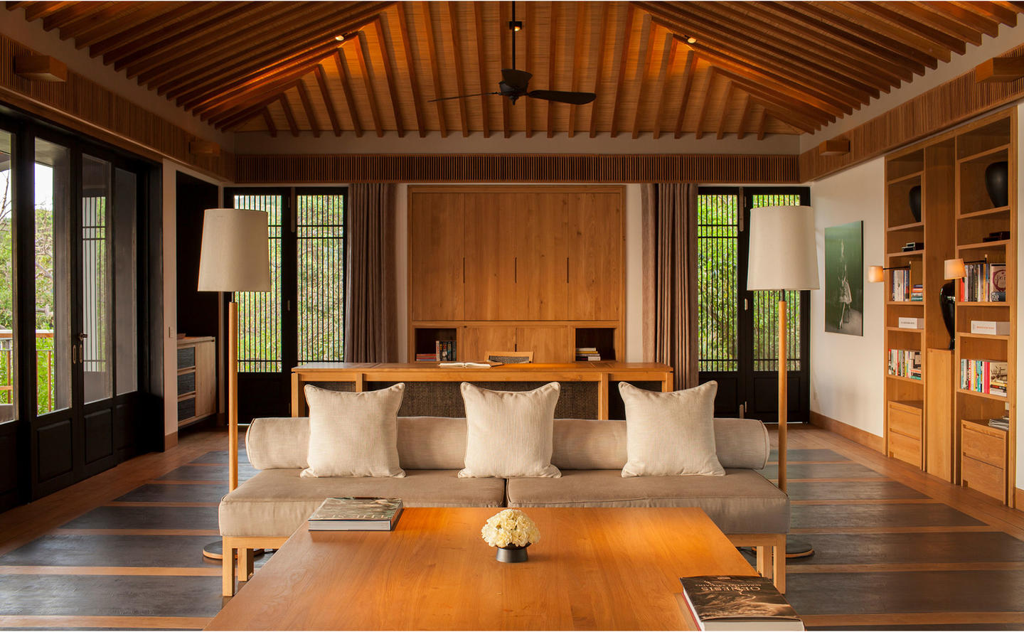 Living Area, Four-Bedroom Residence - Amanoi, Vietnam