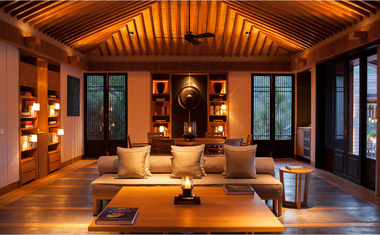 Living Area, Five-Bedroom Residence - Amanoi, Vietnam