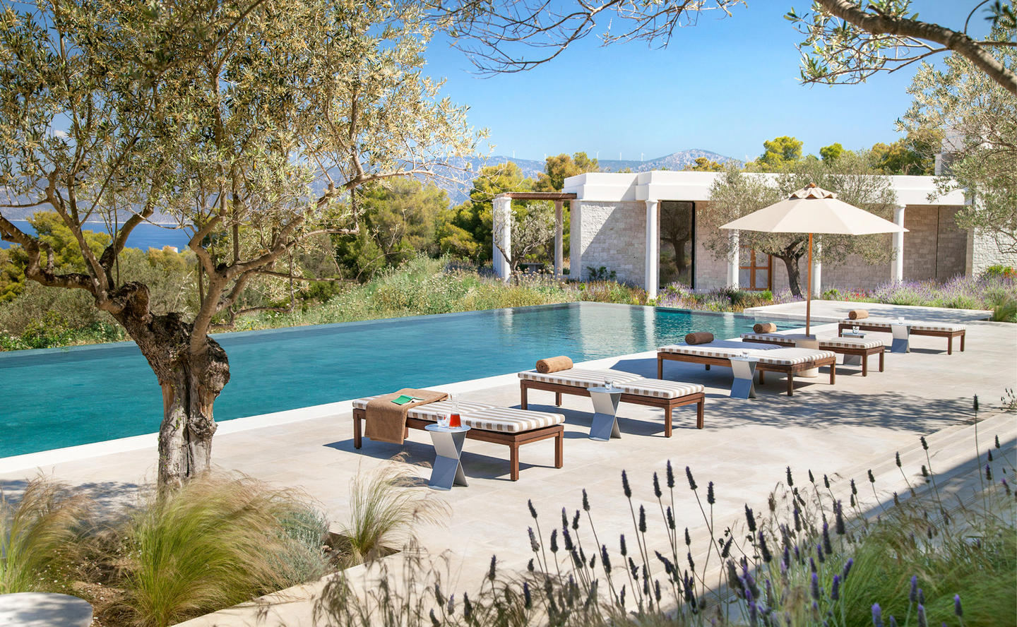 Swimming Pool & Terrace, Six-Bedroom Villa - Amanzoe, Greece