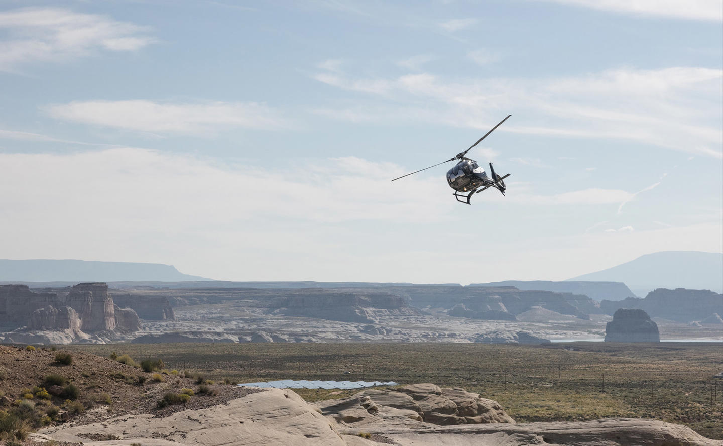 Helicopter Tour, Private Air Tours, Amangiri, Utah, USA