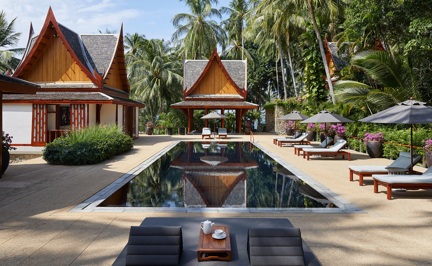 Swimming Pool, Four-Bedroom Garden Villa, Amanpuri, Thailand