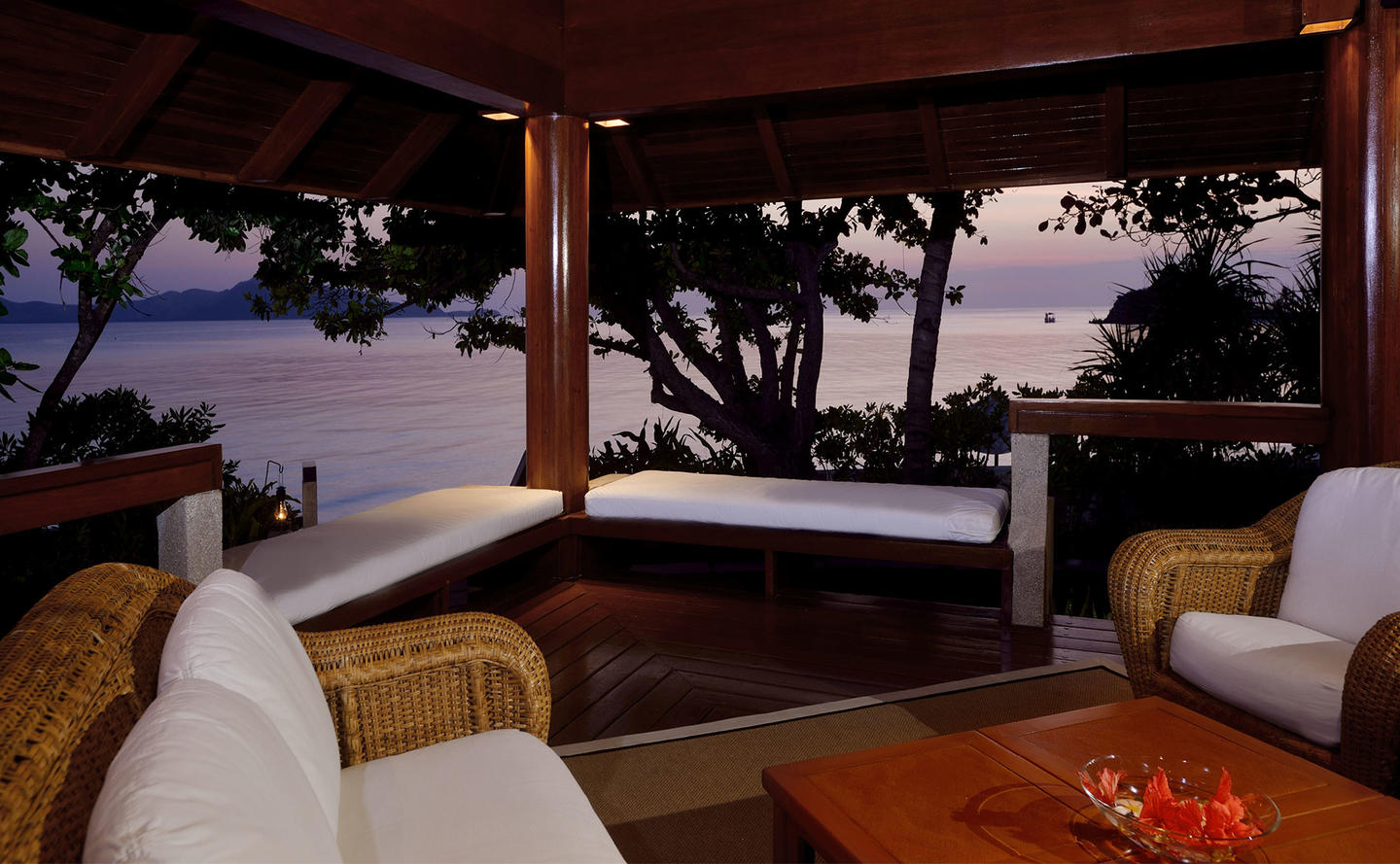 Sea Views from Terrace, One-Bedroom Villa - Amanpulo, Philippines
