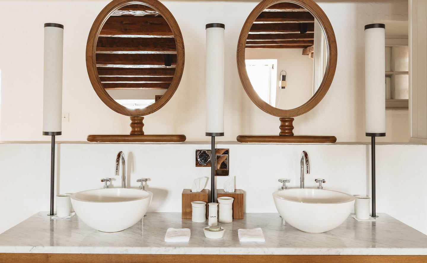 Bathroom, Three-Bedroom Village Cottage, Aman Sveti Stefan, Montenegro