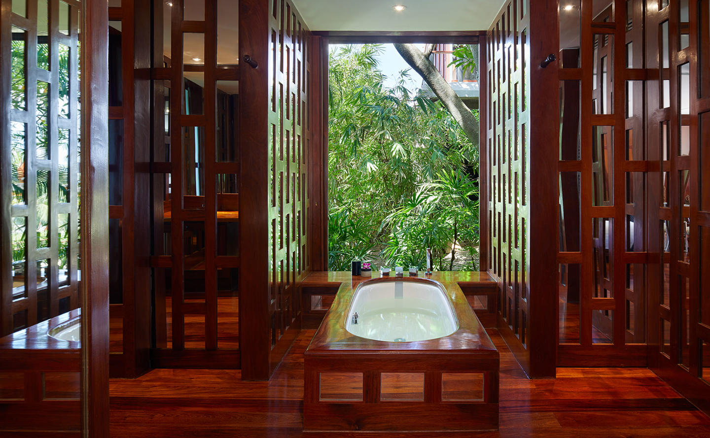 Bathroom, Two-Bedroom Garden Villa, Amanpuri, Thailand
