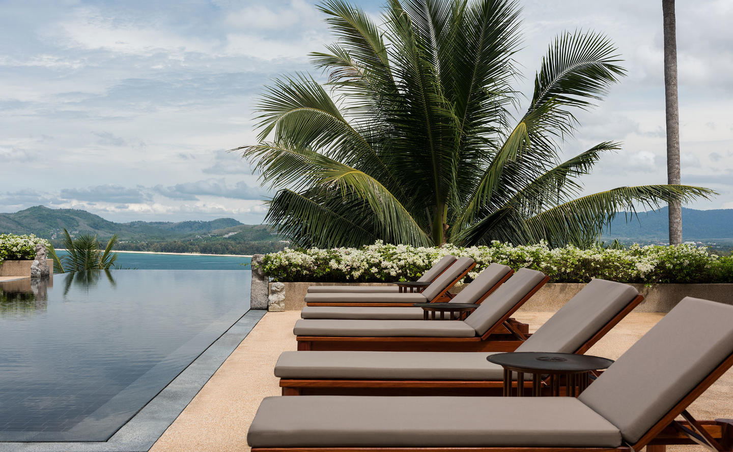 Poolside Terrace, Two-Bedroom Ocean Villa, Amanpuri, Thailand