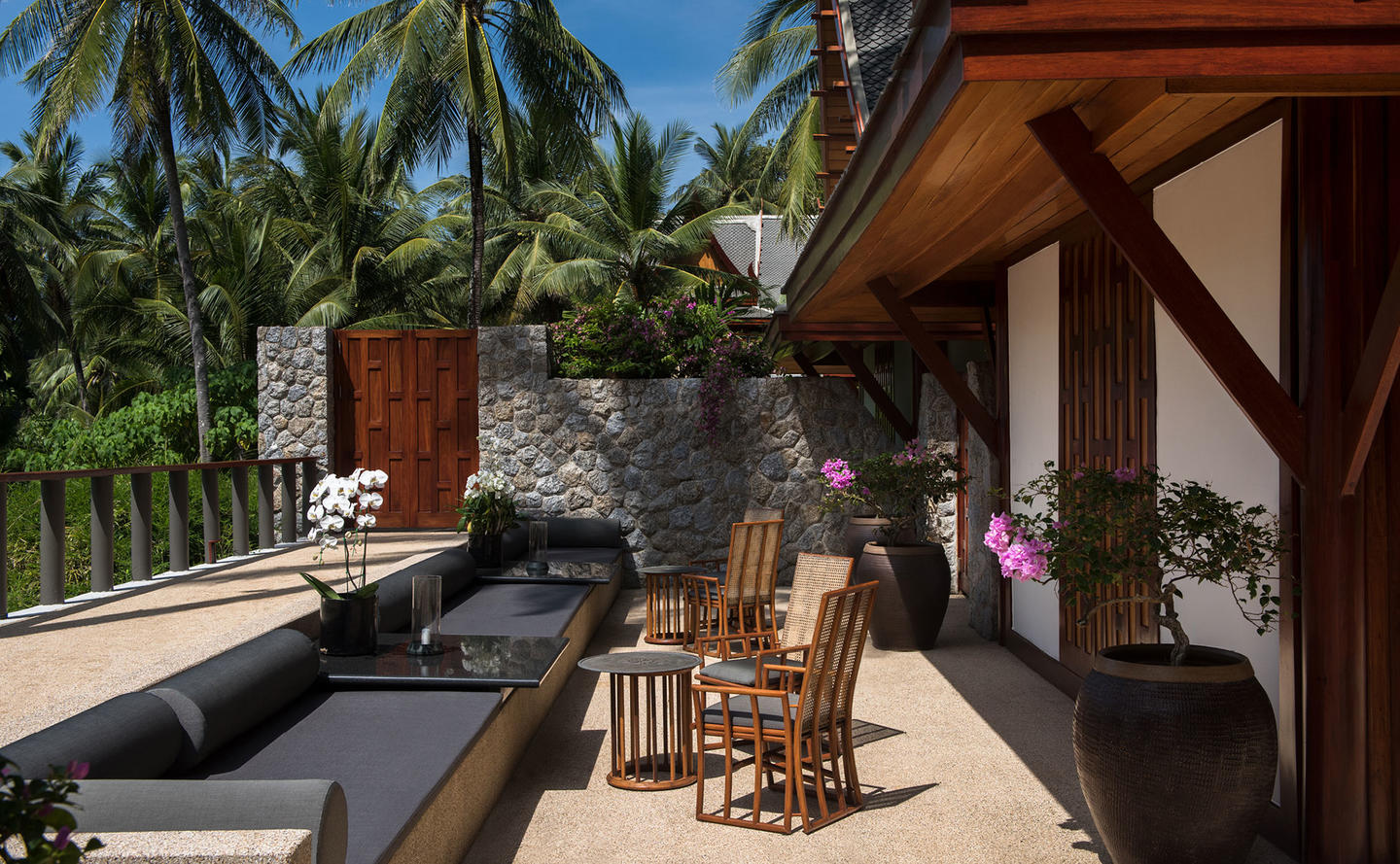 Terrace, Two-Bedroom Pool Pavilion, Amanpuri, Thailand
