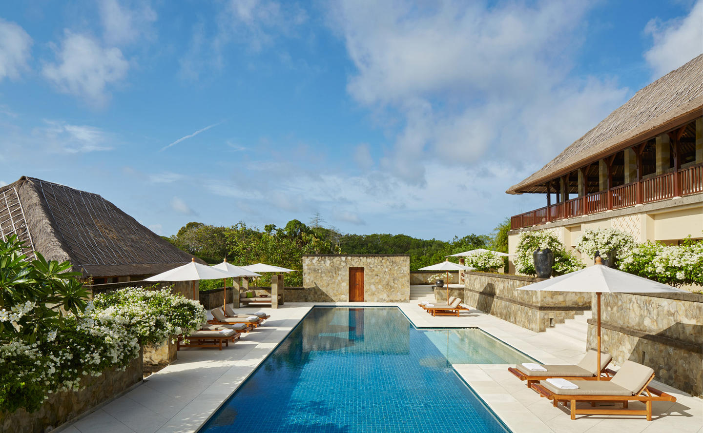 Swimming Pool & Terrace, Two-Bedroom Villa - Aman Villas at Nusa Dua, Bali