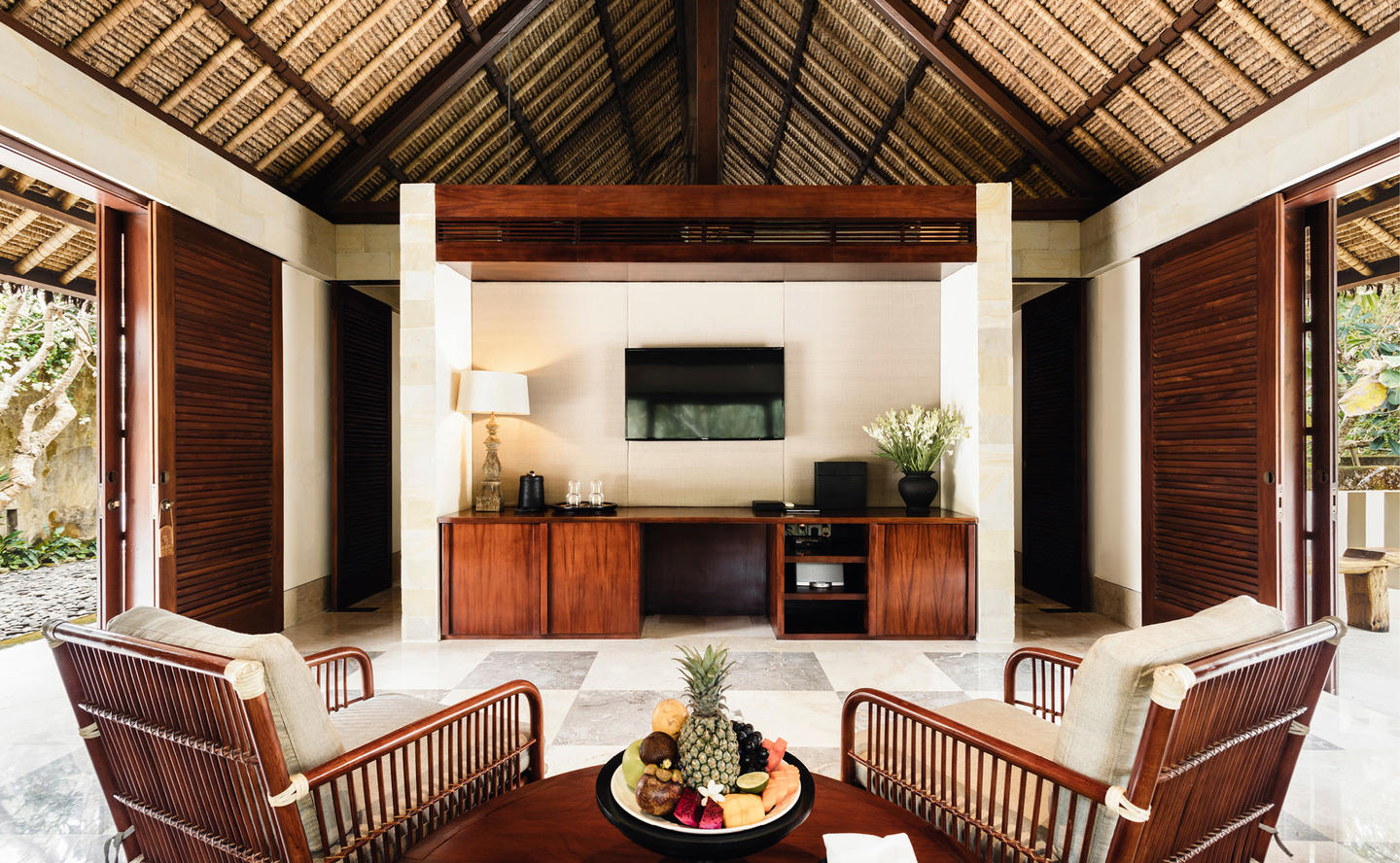 Living Area, Two-Bedroom Villa - Aman Villas at Nusa Dua, Bali