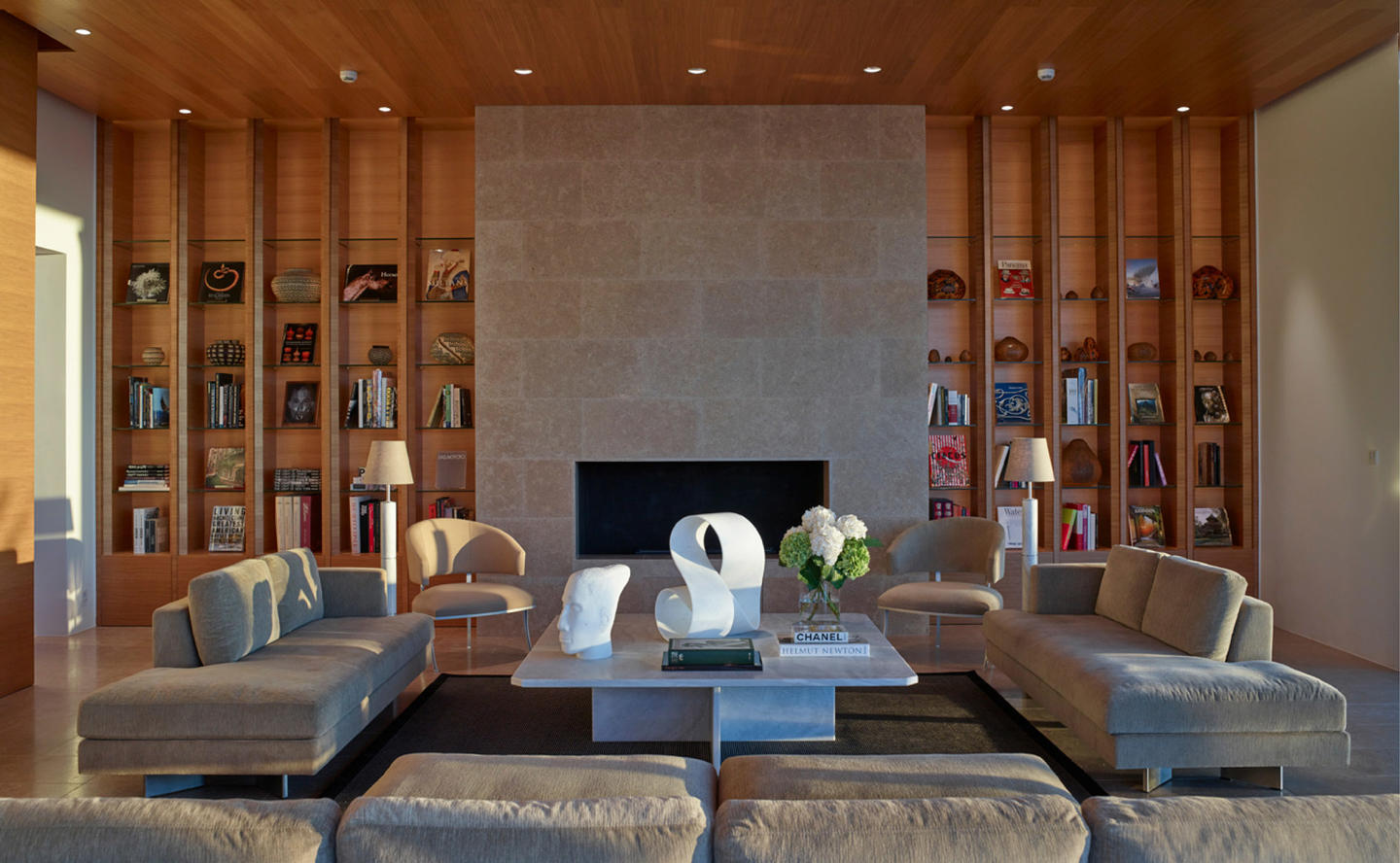 Library, Villa 20 - Amanzoe, Greece
