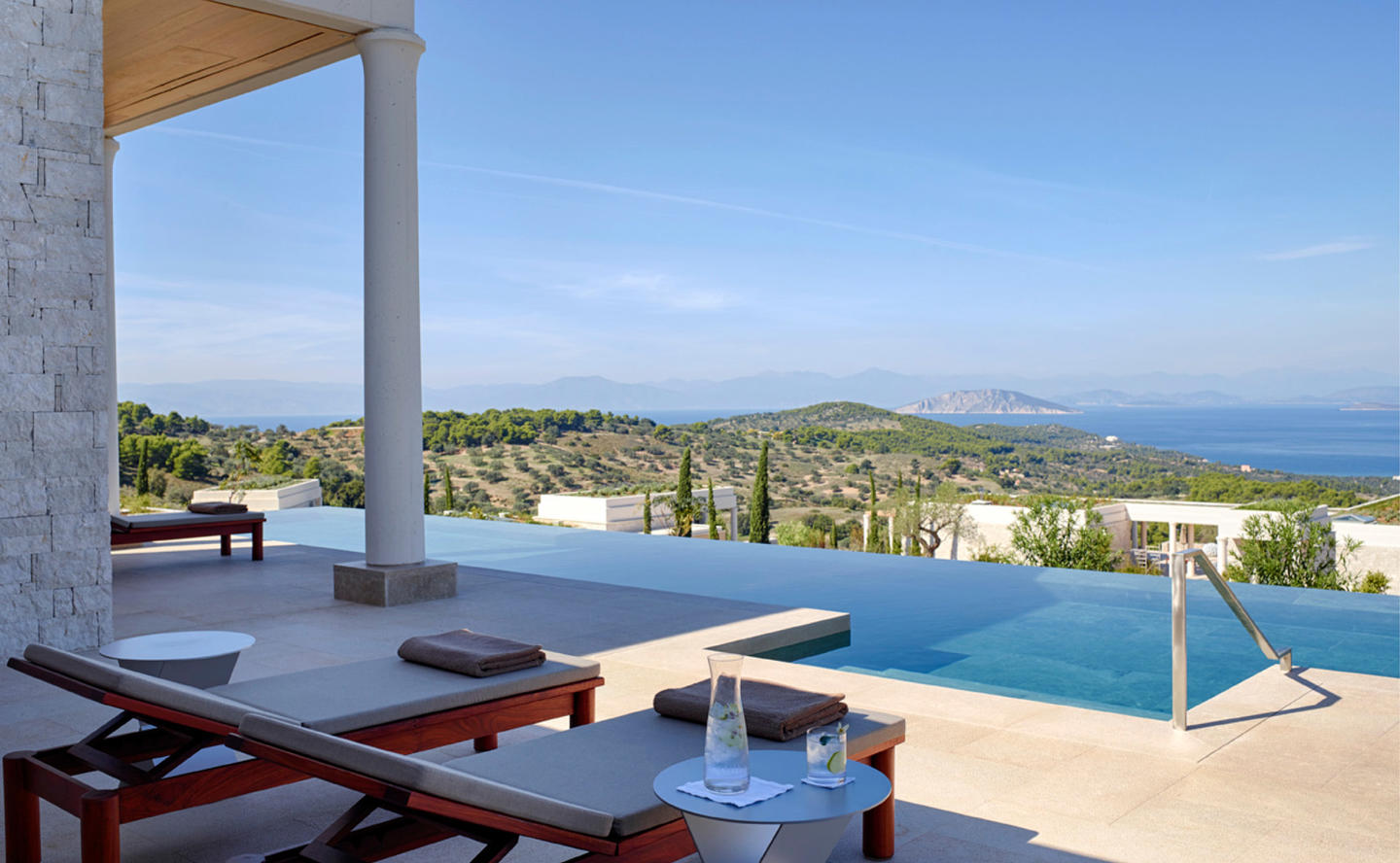 Suite Swimming Pool, Villa 20 - Amanzoe, Greece