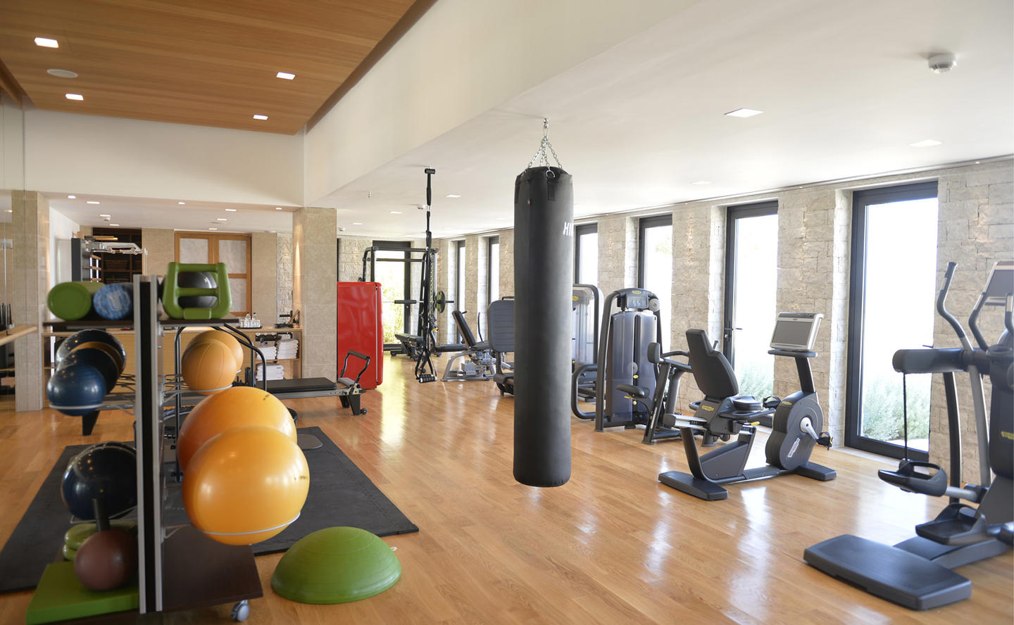 Gym, Villa 20 - Amanzoe, Greece