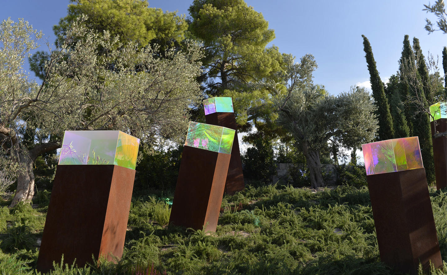 Sculpture in Gardens, Villa 20 - Amanzoe, Greece