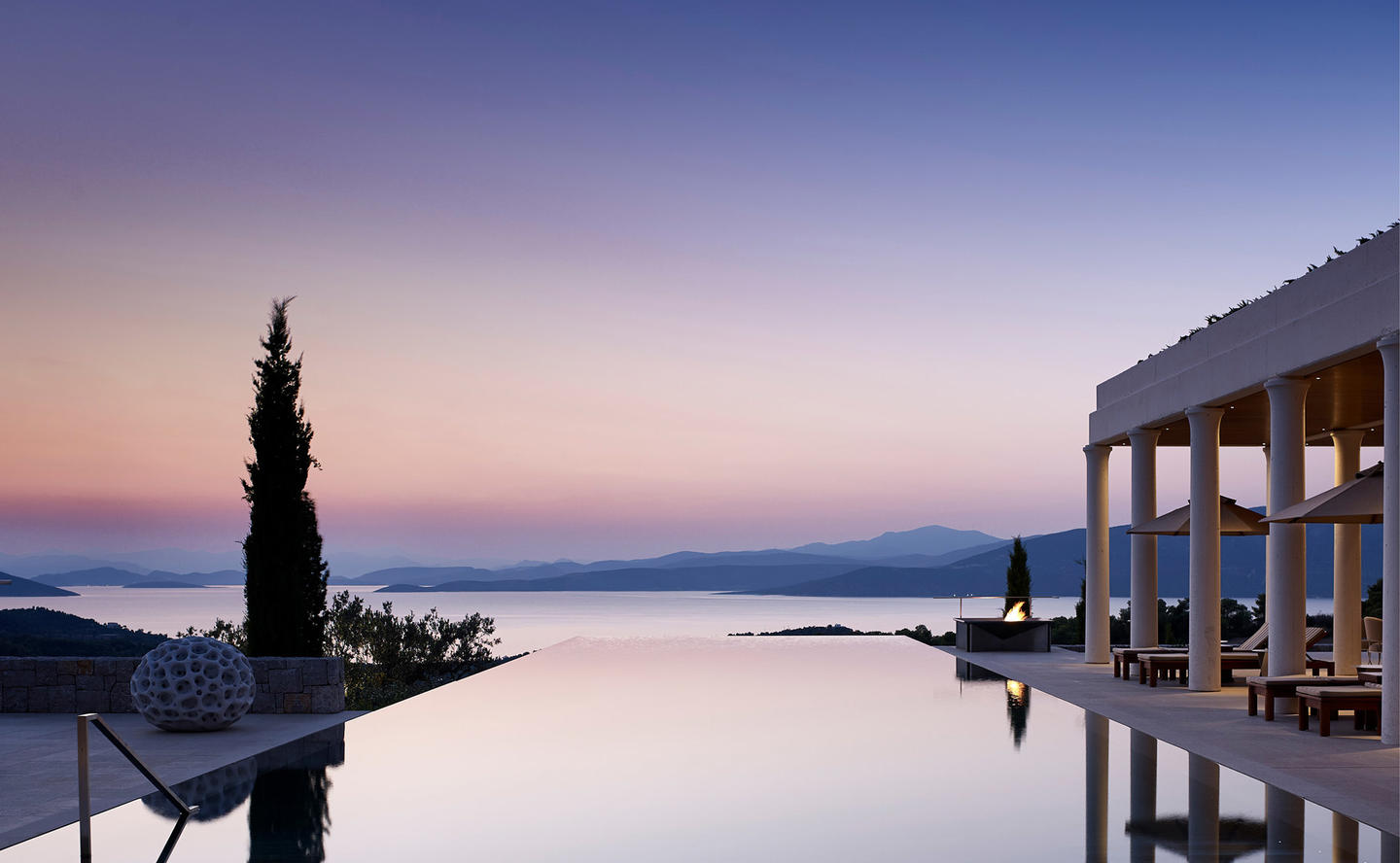 Private Swimming Pool, Villa 20 - Amanzoe, Greece
