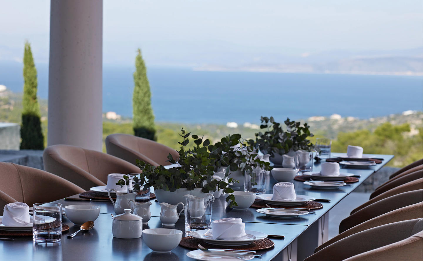 Dining Table, Villa 20 - Amanzoe, Greece
