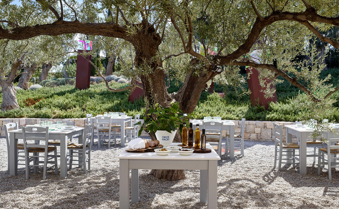 Private Greek Taverna, Villa 20 - Amanzoe, Greece