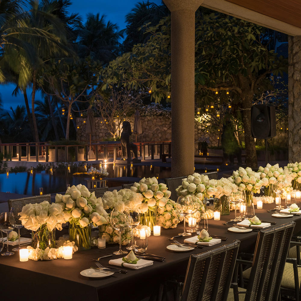 Private Dining at Amanpuri, Thailand