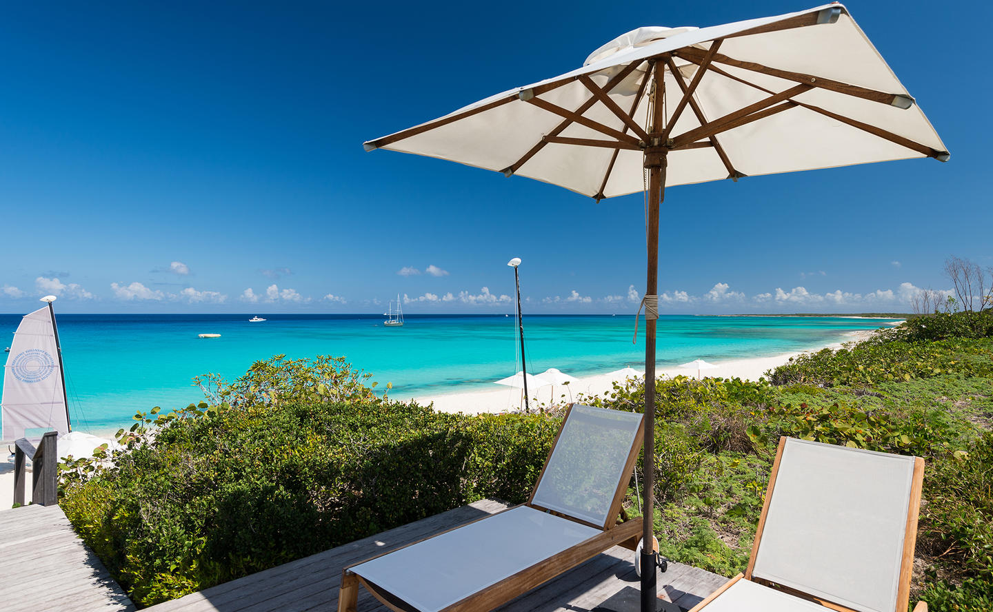 Sun Deck, Four-Bedroom Beach Sala Villa - Amanyara, Turks & Caicos