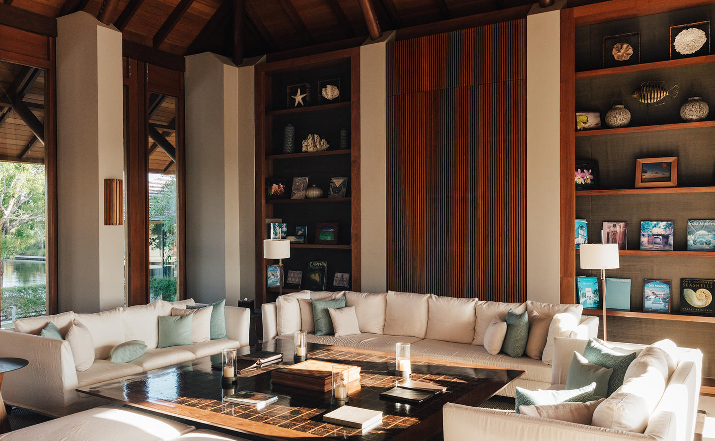 Living Area, Four-Bedroom Beach Sala Villa - Amanyara, Turks & Caicos
