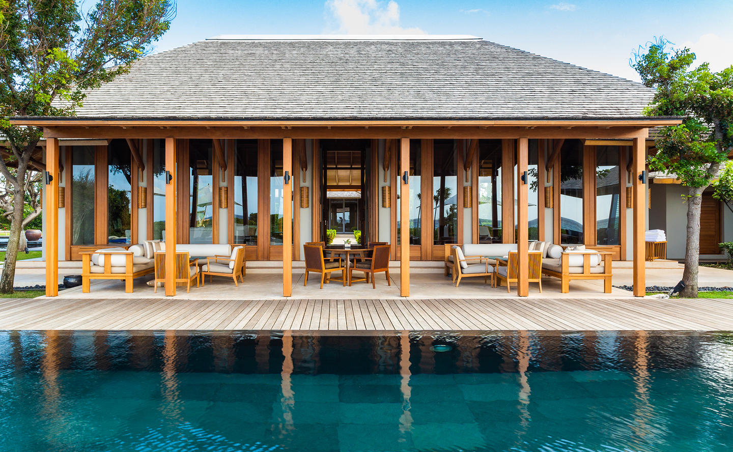 Main Pavilion, Four-Bedroom Deluxe Beach Sala Villa - Amanyara, Turks & Caicos