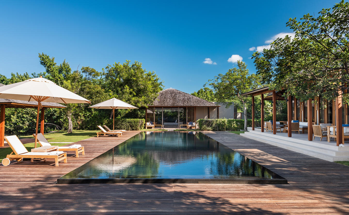 Swimming Pool & Terrace, Four-Bedroom Tranquility Villa - Amanyara, Turks & Caicos