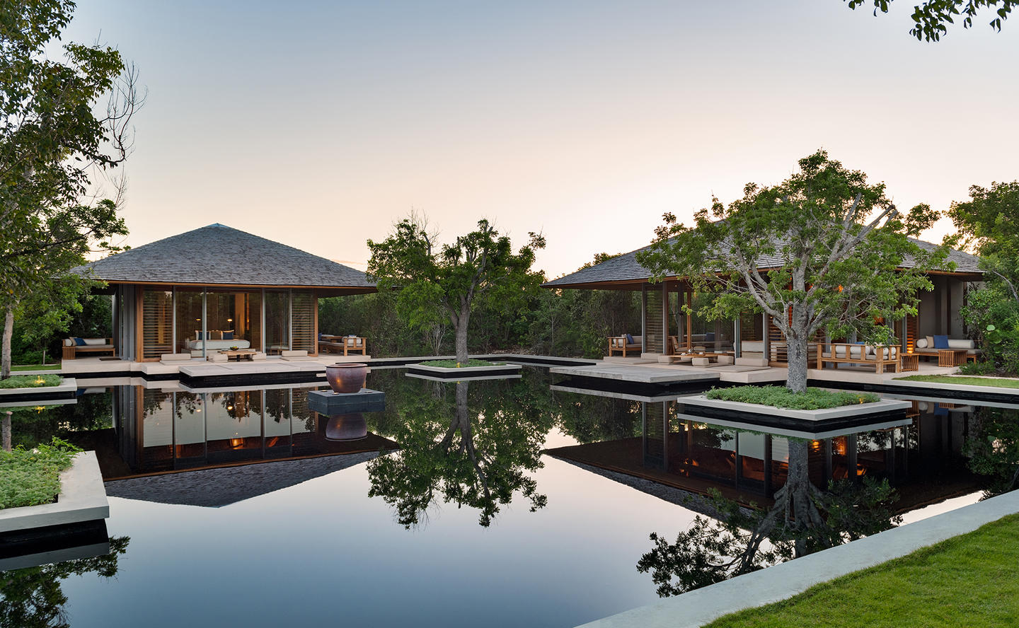 Lakeside Pavilions, Four-Bedroom Tranquility Villa - Amanyara, Turks & Caicos