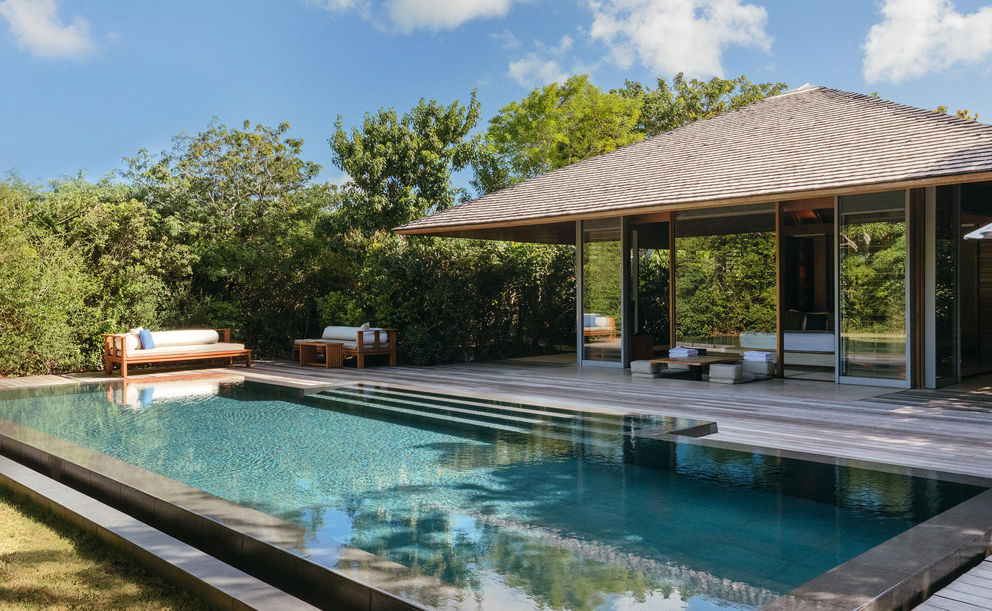 Swimming Pool, Pool Pavilion - Amanyara, Turks & Caicos