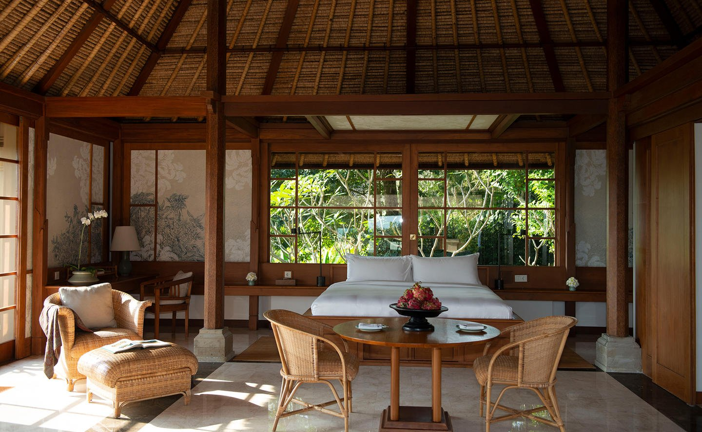 Bedroom, Pool Suite - Amandari, Bali