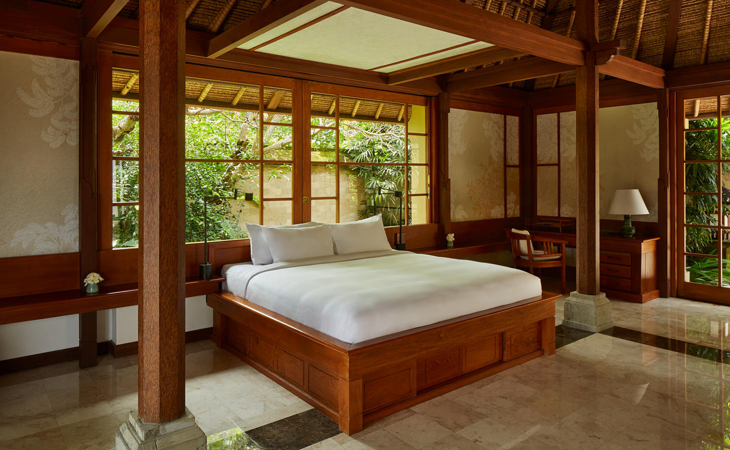 Bedroom, Valley Suite - Amandari, Bali