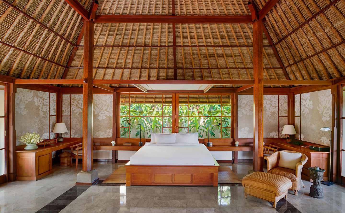 Bedroom, Village Suite - Amandari, Bali