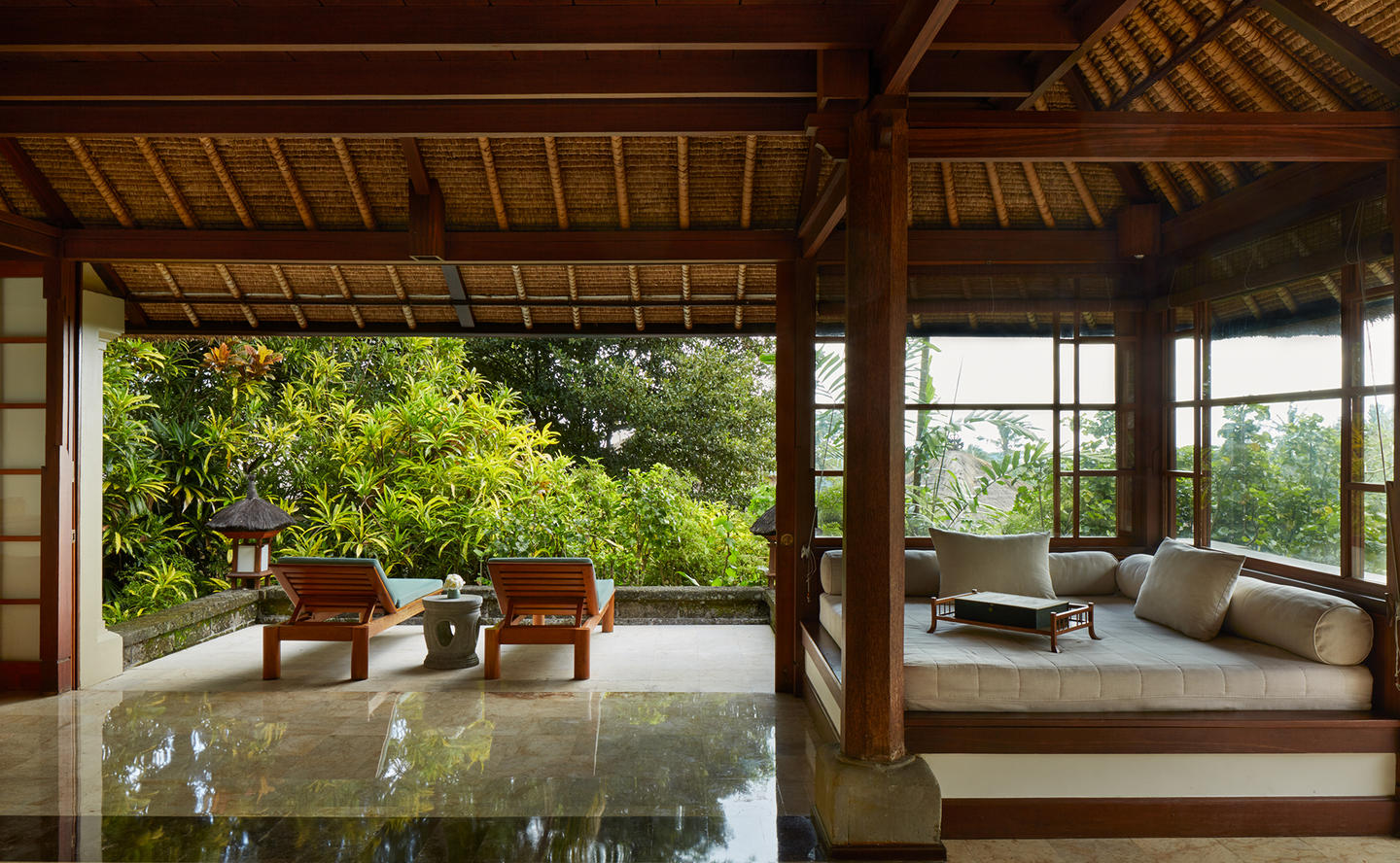 Living Area, Village Suite - Amandari, Bali