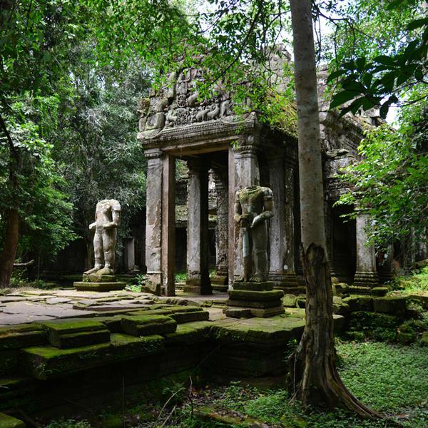 Angkor, Experiences at Amansara, Cambodia